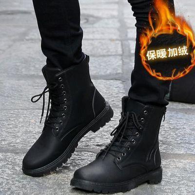 军靴男作战靴超轻军靴男特种兵野战靴短靴英伦军靴男冬冬季靴子潮