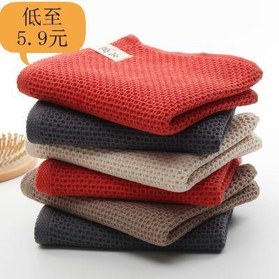 诧寂日式毛巾纯棉纱布蜂巢劳保商务礼品洁面洗脸家用成人不掉毛
