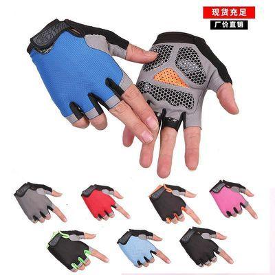 骑行健身手套运动半指防滑战术手套健身房户外运动男女士防晒手套