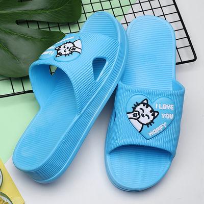 拖鞋女夏季外穿时尚韩版家用中跟凉拖鞋夏季新款厚底女凉拖妈妈鞋
