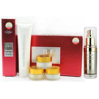 FBF菲芭菲嫩白透红三合一套装洗面奶+精华素美白祛斑五件套化妆品