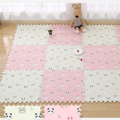 拼图地垫加厚泡沫子儿童卡通榻米接宝爬行铺板特大号80x毯床木块