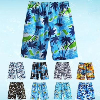 厂家直销价格实惠,质量保证,我们承诺:7天无理由退换货售后保障!真正的零风险购物放心享受,不会有任何后顾之忧哦!让亲轻松时尚购物】 【因花色多统一随机配发花色!】多种花色可选,亲 您好 沙滩裤是均码的, 正常可以从90穿到190斤左右,90-120比较宽松,如有介意慎拍,我们这是松紧带的,带有系绳,可以调节大小的,好穿的。我们人工测试数据过,主款可以穿到190斤左右,随机的那条建议穿到170斤左右哦....祝亲购物愉快。