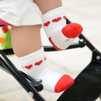 婴儿袜子长筒男宝童女公主打底高小幼连体裤春夏中足球鞋秋丝白健
