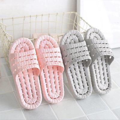 新款情侣凉拖鞋男女士室内浴室洗澡拖鞋漏水防滑按摩鞋底居家拖鞋