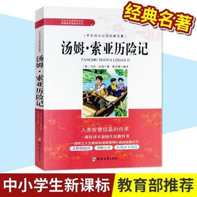 汤姆索亚历险记【老师推荐】中小学必读经典名著故事书暑假期课外