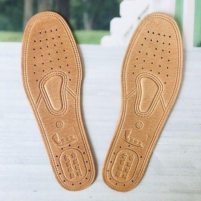 除臭真皮鞋垫男女防臭吸汗透气加厚猪皮运动牛皮鞋垫