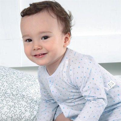 藤之木工房婴儿内衣套装棉宝宝纯棉内衣薄款男童女童服装四季