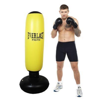健身成人拳击沙袋散打立式家用不倒翁沙包玩具儿童跆拳道训练器材