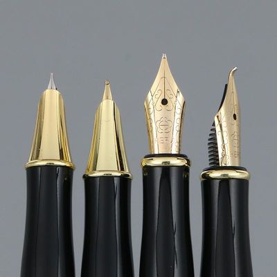 英雄钢笔1506成人书法练字学生用手绘艺术签名弯头美工笔免费刻字
