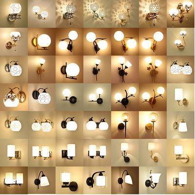 led美式墙壁灯现代简约客厅卧室床头走廊阳台墙壁灯