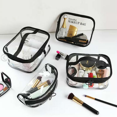 旅行透明化妆包小号便携化妆用品收纳袋大容量防水洗漱包手拿包女