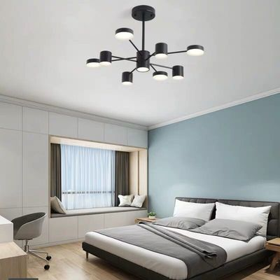 北欧风格客厅吊灯简约现代大气家用网红灯饰创意餐厅卧室灯灯具