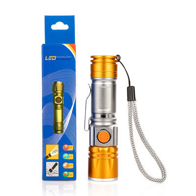 强光手电筒可充电式