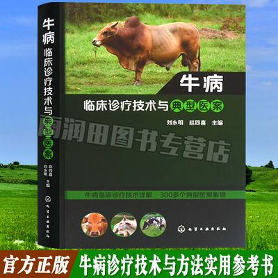 牛病临床诊疗技术与典型医案 牛病临床诊断治疗书籍 养牛书兽医书