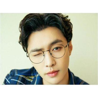 防蓝光复古眼镜女学生韩版近视男无度数网红防辐射潮流瘦脸帅气