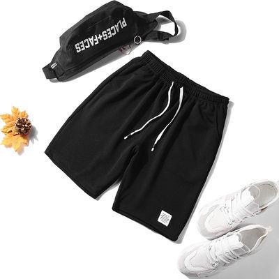 短裤男五分裤夏天宽松薄款休闲裤子4XL大裤衩马裤弹力透气运动裤