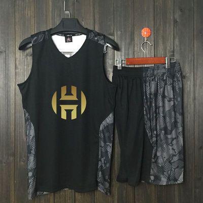 科比篮球服套装男学生背心詹姆斯哈登球衣比赛服队服团购定制飞人