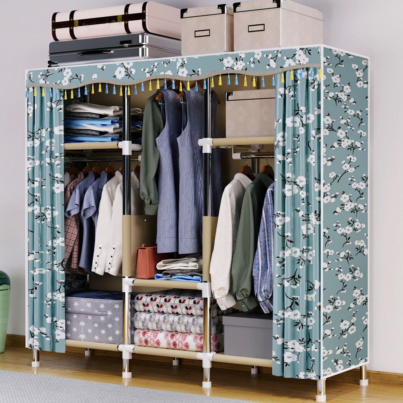 钢管和实木衣柜哪个好