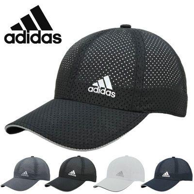 阿迪达斯帽子adidas夏季速干帽透气网眼棒球帽运动帽遮阳鸭舌帽