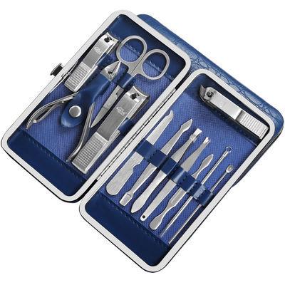 新款锋利不锈钢指甲刀12件套装家用指甲剪指甲钳成人男女美甲工具