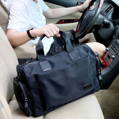 新款男士旅行包运动休闲手提包男包韩版出差单肩包牛津布包行李包