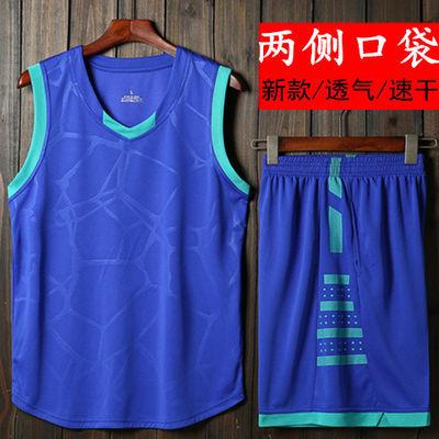 篮球服套装男夏季训练跑步服背心短裤青少年学生比赛队服速干球衣
