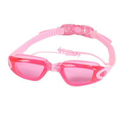 水镜帽套清防新款专业童女儿童水游女童泳帽套装三宝视大潜水镜镜