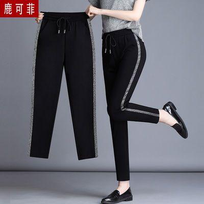 七分/九分/长裤 休闲裤夏季女装小脚运动裤宽松黑色裤子女哈伦裤