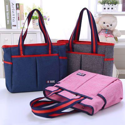 新款女包手提包时尚布包妈妈包手拎妈咪包带宝宝外出包休闲女士包