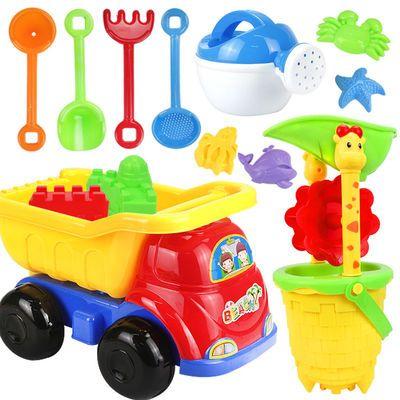 儿童沙滩玩具套装大号铲子沙漏桶小孩宝宝挖沙玩沙子工具男孩女孩