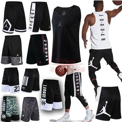 AJ飞人短裤NBA科比篮球短裤AJ运动裤夏季健身宽松飞人运动短裤