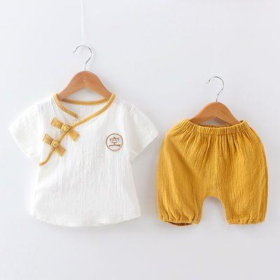 潮男童夏季套装男孩两件套婴儿童装宝宝短袖夏装1一2-3-4-5岁衣服
