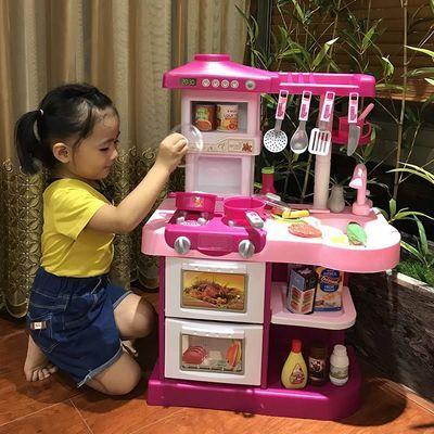 7-9岁3-6周岁玩具灶台小孩游戏屋宠物迷你电饭锅的玩具快乐煤气灶