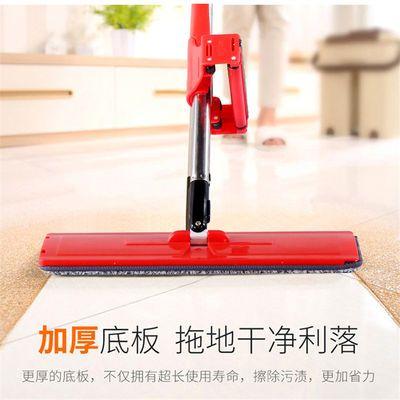 免手洗平板拖把旋转家用木地板懒人拖地神器免洗干湿两用地拖布净
