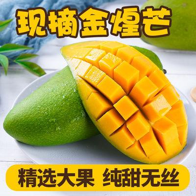 芒果10斤装 新鲜水果当季大青芒5/10斤 整箱批发金煌芒玉芒甜心芒