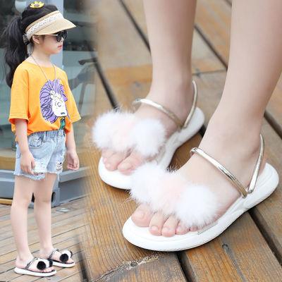 2020夏季新款女童凉鞋两穿防滑公主小学生网红儿童中大童外穿拖鞋