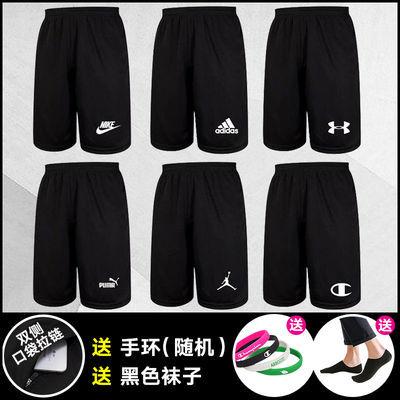 夏季运动短裤男女速干五分裤宽松大码篮球裤休闲沙滩裤aj健身跑步