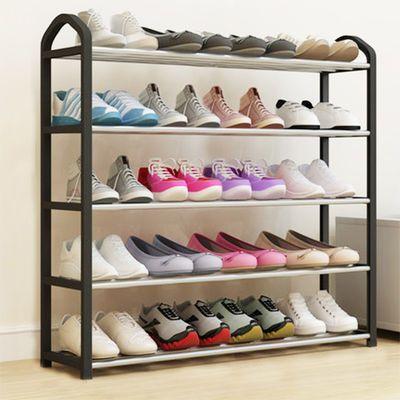 红茗轩门口多层实木鞋架简易家用多功能经济型省空间鞋柜子特价