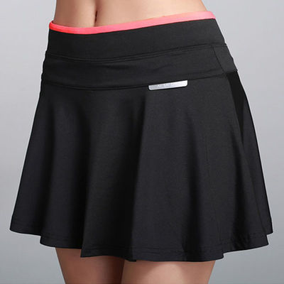 36360/运动短裙女夏薄款款速干针织弹力裙裤裙跑步半身裙网球a字软裙子