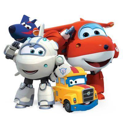 乐迪变形机器人超级飞侠玩具套装全套大号小爱包警长酷飞小柔一套