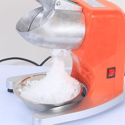 刨冰机刀片充电型河马绵绵冰电动小型台湾小丸子冰粉冰沙杯模
