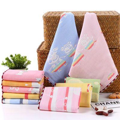 毛巾纯棉洗脸成人儿童婴儿洗澡家用批发纱布口水巾小方巾小毛巾