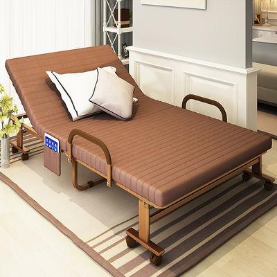 简易折叠床单人床家用午睡床双人拆叠床铁行军床陪护床办公室躺椅