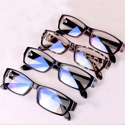 防辐射眼镜男潮防蓝光无度数平光镜架女手机电脑圆框护目近视眼睛