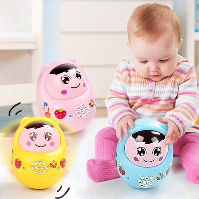 不倒翁早教机故事机带灯光音乐玩具婴儿宝宝娃娃益智玩具