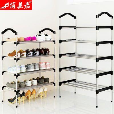 省空间鞋子收纳神器鞋盒家用层放拖鞋柜透明简易整理鞋架单装