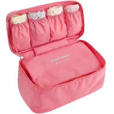 韩版多功能旅行文胸收纳包内衣内裤袜子收纳盒化妆品洗漱包收纳袋
