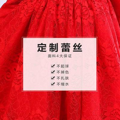2019新款女童洋气连衣裙蕾丝长袖蓬蓬裙儿童公主裙纯棉春夏款裙子