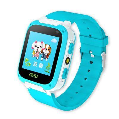 儿童电话手表小学生防水智能手机男孩女孩gps定位跟踪多功能